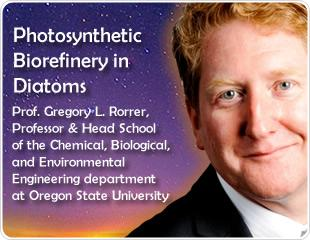 Photosynthetic Biorefinery In Diatoms: An Interview With Prof. Greg Rorrer