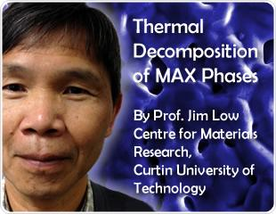 Thermal Decomposition of MAX Phases